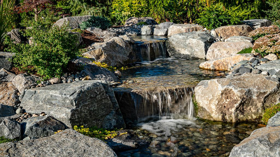 mini pondless waterfall