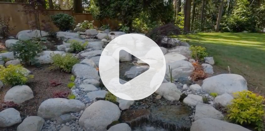 Water feature video